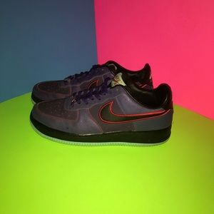 Air Force 1 Low Court Purple Red Shoes